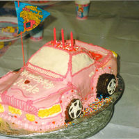 Barbie Sports Car I made this car for my daughter