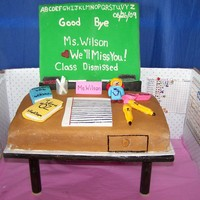 Teacher's Desk I made this for my son's Teacher who was retiring after 30 years of teaching
