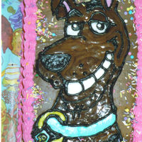 Scooby-Doo I made this for my daughter's birthday