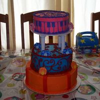 Doodlebops Cake Me and my friend both make cakes and I make her daughter's cakes since she is busy with other things before the party. She designed...