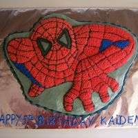 Spiderman For Kaiden Kaiden wanted spiderman and his twin sister wanted Barbie they both got their wish! I love making cakes for children and making their...