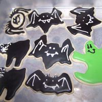Cats And Ghost RI on Sugar cookies