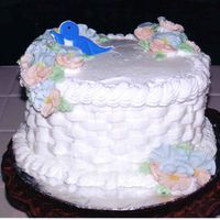 Course Ii Basket Weave Cake This was my final for when I took Course II with Wilton