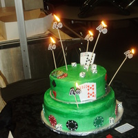 Poker Cake For 40Th Birthday