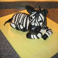 Zebra Cake I did a trial run on this cake earlier, and this was the real cake for a gourmet dinner for 8 with an African theme- the dinner was...