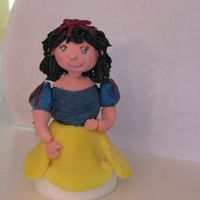 Snow White My Niece decided she wanted a Snow White cake for her 3rd birthday. I am going to be flying up to her in MA to help celebrate. This is the...