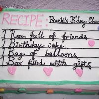 Recipe Cake got the idea for this cake from wilton year book