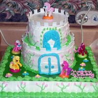 My Little Pony I made this cake for my daughters 3rd birthday.