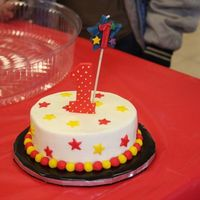 First Birthday Circus/carnival Theme Smash Cake
