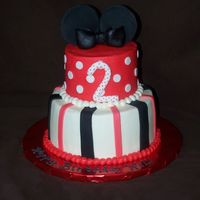 Mickey Mouse Buttercream and fondant accents