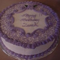 Lavender Birthday Cake This was a last minute cake i did for a customer, The order was placed in the morning to be picked up the same afternoon. I was please with...