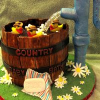 Country Baby Bath - Front View!