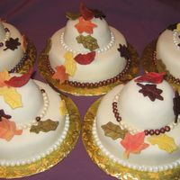 The Pearl Ladies Autumn Luncheon Cakes