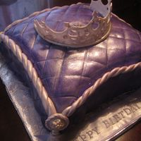 Purple Pillow Crown