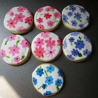 Painted Cookies Inspiration came from KHalstead but mine aren't as pretty as hers! Penny's cookie recipe with Antonia's RI. Painted with...