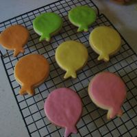 Balloons Just testing out a new cookie flavor - strawberry and cream NFSC with some leftover RBC. They didn't last long in the house so I'...