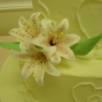 Stargazer Lillies Stargazer lillies made w/ the cutter that comes in the wilton gumpaste flower kit