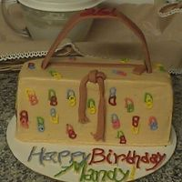 Dooney And Burke Purse Cake Here is a cake I made for my friend for her birthday. She really wanted a Dooney and Burke purse, but maybe for Christmas! :) I had it...