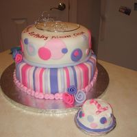 Princess Chloe Cake All fondant.