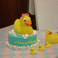 A Shower Of Blessings For Baby Sophia I made this cake was for my best friend's work baby shower. We both work at the same company, and we had planned on throwing her a...