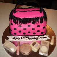 Hot Pink And Polka Dot Purse I finally had an opportunity to try a purse cake. I really liked doing this, and the candy accessories were so easy! I really struggled...