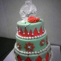 Mad Hatter Cake This was my first rolled fondant cake. I was really pleased with everything.
