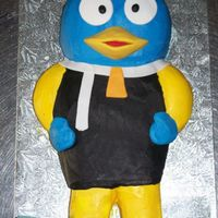 Backyardigans all buttercream with a few fondant accents, birthday boy LOVED it!! stuck is hand right in!