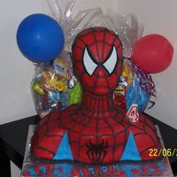 Jaqielle's Spiderman My lil cousin is crazy about spiderman....so his mom asked me for a spiderman cake of course. And this was also on the list of I WOULD LIKE...