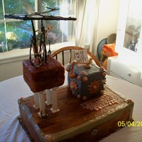 Wild Wild West Steam Punk Cake