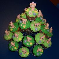 Littlest Pet Shop Cupcakes For my daughter's 6th birthday she wanted a Littlest Pet Shop theme. Fondant-molded mice with edible image eyes. Cupcakes covered in...