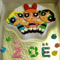 Powerpuff Girls #2 Made for a little girl's 6th birthday