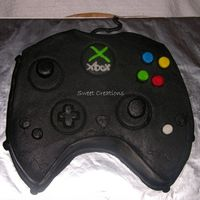 X-Large-Xbox Controller hope you all enjoy this one. it was carved from an 11x15 sheet cake. Turned out Great! Everyone Loved it. My 4yr old said,, WOW What a Big...