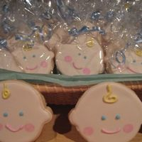 Baby Cookies Baby shower cookies. NFSC and Antonia's RI.