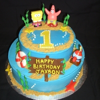 Spongebob 1St Birthday