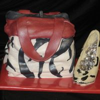 Handbag And Candy Shoe