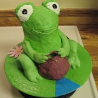 Frog Frog for a friends b-day.