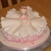 "Sugar Plum Fairy From Debbie Browns ""Enchanted cakes for children"".You'll never know how easy to make this untill you actually try to make..."