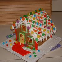 Wilton Gingerbread House
