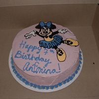 Minnie Mouse Birthday Cake BCT with BC Icing