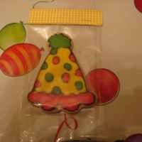 Party Hat Favor Party Hat favor for my niece's b'day