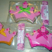 Tiara Party Favors - Assorted Party Favors for my sister's 12th b'day party at school.