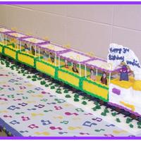 3D Barney Train For Annaliesse