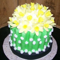 Daffodils   Client ask for daffodils andsaid to be creative. This is what come up with.