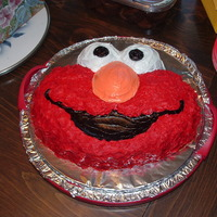 Elmo  The cake that started it all. This was the very first cake I made for my first child's first birthday. I was so nervous I made a...