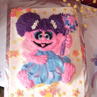 Abby Cadabby  For my DN's birthday. I was quite proud of this cake, but the photos don't seem to do the cake justice. I made the dress from...