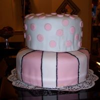 Zade's Lingerie Shower Cake