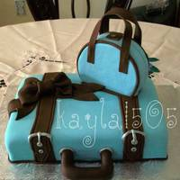 Suitcase Cake I made this cake for my aunts bday. she travels alot so it was the perfect cake idea.