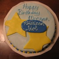 American Idol Cake This is a cake I did for an 11yr. old girl. Thanks to kstgelais4 for posting your pics. I showed your pics to the little girl and she loved...