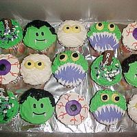 Some Fun Cupcakes For Halloween