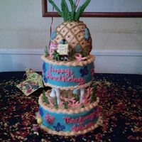 Tiered Sponge Bob first attempt at a tiered cake, learned a lot from working on this cake, it was a last minute decision. Took some ideas from this site. The...